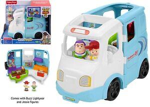 Disney Toy Story 4 Jessie Campground Little People Car Buzz Lightyear Van Truck