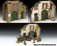 KING & COUNTRY DIORAMA SP065 BATTLE DAMAGED BUILDING MIB