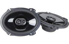 "New Rockford Fosgate PUNCH P1683 6x8"" 130 Watt 3 Way Car Coaxial Speakers Audio"