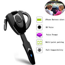 Wireless Stereo Bluetooth Headset Headphone Earpiece For Motorola LG Samsung HTC