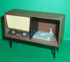 VINTAGE DOLLS HOUSE TRIANG 1960's RADIOGRAM RECORD PLAYER LUNDBY SCALE