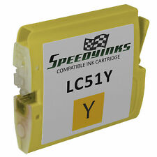 LC51 YELLOW Ink Cartridge for Brother MFC-240C Printer