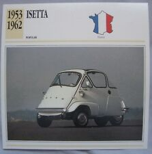 Isetta Collectors Classic Cars Card