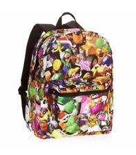 """Mario Bros. Comic Backpack 16"""" School Backpack New W/out Tags"""