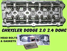 CHRYSLER DODGE STRATUS PT CRUISER NEON 2.4 DOHC CYLINDER HEAD & BOLTS & GASKETS