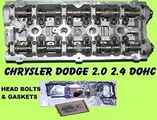 CHRYSLER DODGE STRATUS PT CRUISER NEON 2.4 DOHC CYLINDER HEAD&BOLT&GASKET NO COR