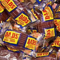 Washburn Dad's Wrapped Root Beer Barrels 2 Lbs