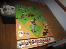 1992 Baltimore Orioles Baseball Schedule Poster with Cal Ripken Nice!