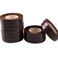 Florist Stem Tape Double Colors Green Brown Flower Wedding Floral Craft