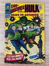 Tales to Astonish #83 (Marvel Comics) Hulk and Sub-Mariner appearance