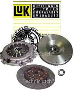 COMPLETE CLUTCH KIT AND LUK DUAL MASS FLYWHEEL DMF FOR NISSAN NAVARA 2.5 DCI D40
