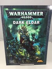 WARHAMMER 40,000 Dark Eldar 2010 supplemento manuale da 40k Games Workshop