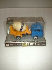 SHINSEI MINI POWER DIECAST CEMENT MIXER SCALE 1/60 IN PACKAGE 4216