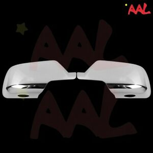 AAL For Cadillac Escalade ESV 2015 06 17 18 2019 Chrome Mirror Cover w/ paddle L