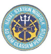 USN Patch Patch:  Naval Station Norfolk