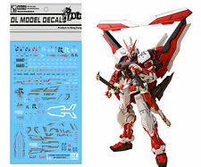D.L high quality Decal water paste For Bandai MG MBF-P02 Astray Red Frame Gundam