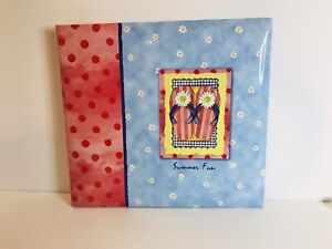 "Flip-Flop Photograph Album 10 Pages Top Load Markings By Gibson 13x12"" NEW"