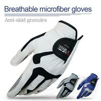 """NEW PGM MENS FIT SYNTHETIC Spandex LYCRA GOLF GLOVE 23""""-26"""" - LEFT HAND White"""
