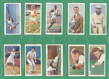 OGDENS  LTD.  -  RARE  SET  OF  50  CARDS  -  CHAMPIONS  OF  1936  -  1937