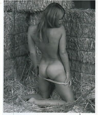 OLD ART Photo big size 10x8 inch Erotic nude naked woman NU Model 1960's (3377)