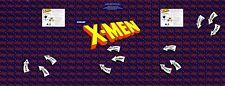 Xmen Arcade Game Control Panel Overlay