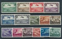 [349208] Luxembourg good lot of Airmail stamps very fine MH
