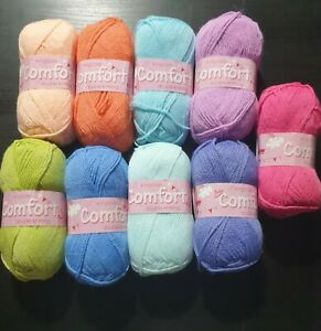 CLEARANCE SALE King Cole Comfort 50g Balls DK Choice of Colours
