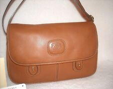 Ghurka # 76 PURSER - NEAR MINT ~With Tags~ Chestnut  Leather Messenger Bag