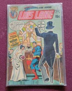 LOIS LANE SUPERMAN'S GIRL FRIEND  # 108 FINE COMIC BOOK-1972