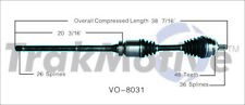 For Volvo S60 Turbo Auto Tran V70 AWD Front Pass Right CV Axle Shaft SurTrack