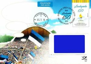 Estonia 2019 Prepaid postcard (No107) Song Festival - 150 years (First day)