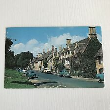 Postcard Bay Tree Hotel Sheep Street Burford Cotsworld's Vintage Cars Posted