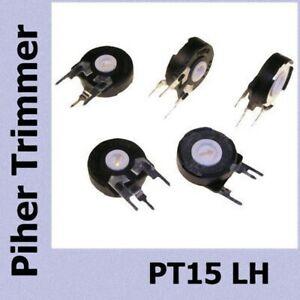 5 pezzi Trimmer resistivo 500 Ohm Piher Spain trimmer potenziometro PT15LH