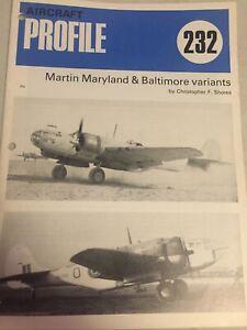 Aeronautics Aircraft Publications Profile 232-Martin Maryland & Baltimore