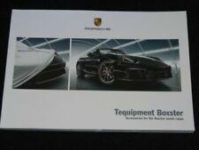 Manuali e istruzioni Boxster per auto porsche
