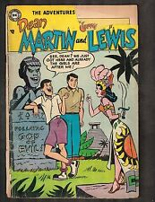 Adventures of Dean Martin and Jerry Lewis #10 ~ 1954 (2.5) WH
