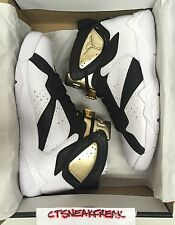 Nike Air Jordan 7 Retro C&C SZ 12 Champagne White Metallic Gold Black 725093-140