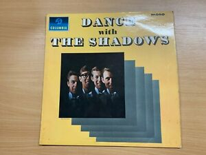 "1964 THE SHADOWS ""DANCE WITH THE SHADOWS"" 33 1/3 RPM 1ST PRESS VINYL RECORD LP"