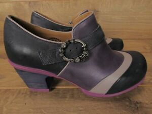 John Fluevog Hopefuls Faith Purple Rose Buckle Shoe 9.5 $329