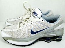 Nike Shox Turbo VII Girls Womens 6Y Youth Blue White Athletic Shoes Sneakers