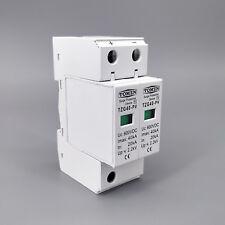 SPD DC 600V 20KA~40KA House Surge Protector Protective  Device