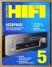HI-FI EXKLUSIV magazine 05/1994 Rega LINN Accuphase T-109 PS AUDIO Lambda & dac