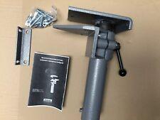 NEU Leinen Garant Höhenverstellgerät automatisch B.125mm Guss Schraubstock grau