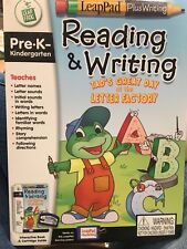 Leap Pad Reading & Writing Tads Great Day at the Letter Factory Pre-K  Reader