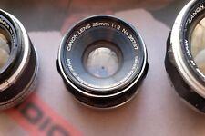 Canon 35 mm F2 pellicola e Obiettivo digitale per telemetro Leica Bessa A7 LTM Summicron