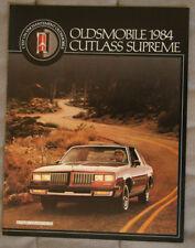 OLDSMOBILE CUTLASS SUPREME 1984 dealer brochure - French - Canada - ST501001117