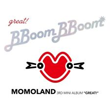 MOMOLAND - GREAT! (3rd Mini Album) CD+2 Photocards+Folded Poster+Tracking no.