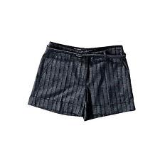 Kurze Gestreifte Damen-Shorts & -Bermudas im Freizeit-Stil mit Mittel