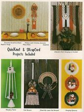 Hanging Table & Kitchen Accesories Patterns - Craft Book: Macrame Scrapbook