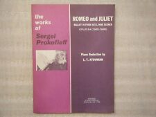 Works of Sergei Prokofieff Romeo and Juliet Ballet Piano Atovmian MCA Music